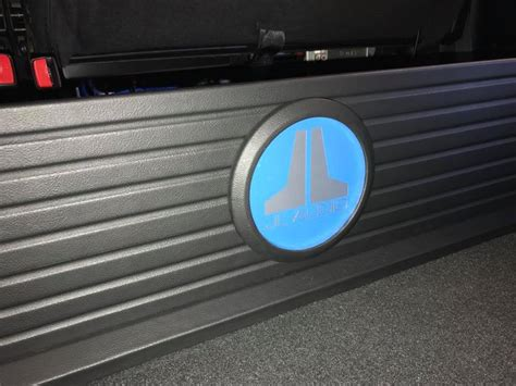 Ford F-250 Under Rear Seat Subwoofer Box Installation with